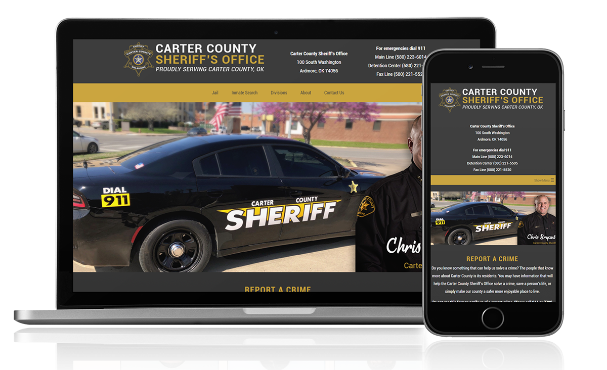 Carter County Sheriff - OK Website