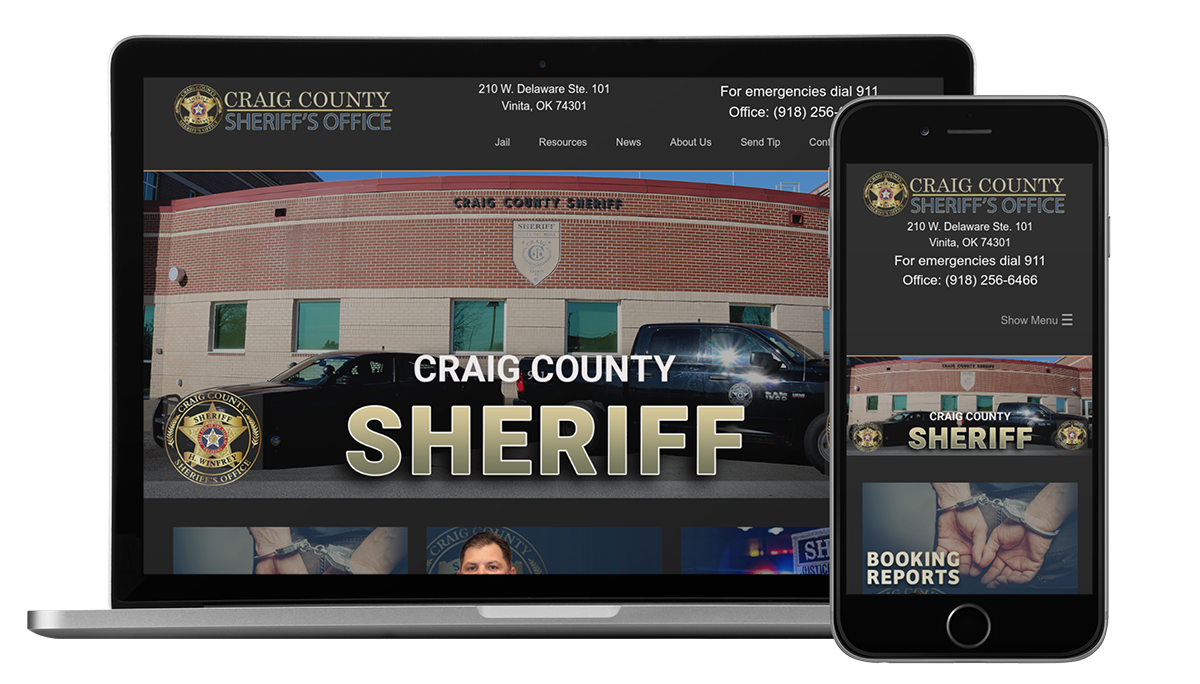 Craig County Sheriff - OK Website