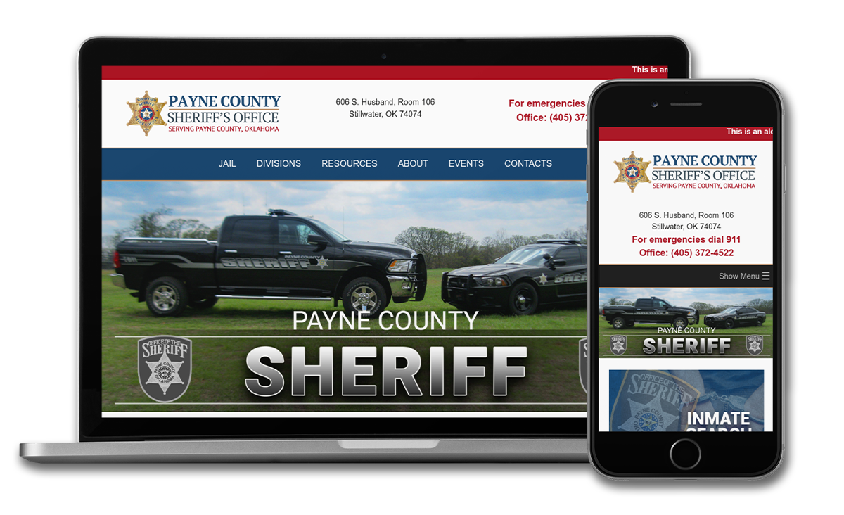 Payne County Sheriff - OK Website